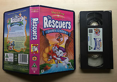 Disney - The Rescuers Down Under - Vhs Video - Brand New & Sealed