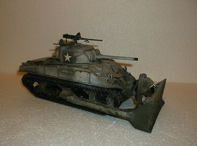 Figarti winter  M4 Sherman bulldozer. Works with king and country