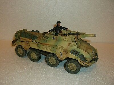 King and country WSS 68 Puma armoured car with tank commander