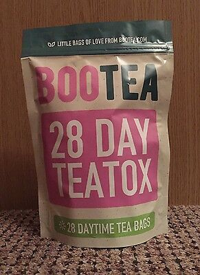 Bootea Daytime Morning Tea Teatox Weight Loss 28 Day Supply Genuine