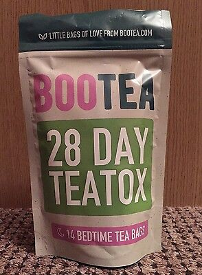 Bootea Night Time Bedtime Tea Teatox Genuine 28 Day Weight Loss Aid Cleanse