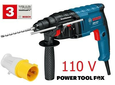5only Bosch 110V PRO GBH 2-20D SDS+ Corded Hammer Drill 061125A460 3165140598224