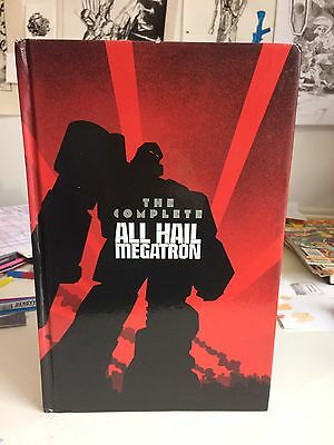 Transformers The Complete All Hail Megatron Hardback Hardcover First Print 2001