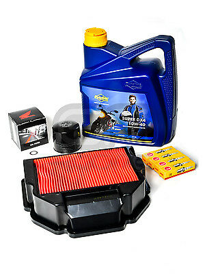 Honda VFR400 NC30 RVF400 NC35 Complete Service Kit - Oil/Filter/Air Filter/Plugs