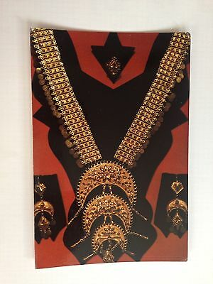 United Arab Emirates Dubai Traditional Golden Necklace Early Days Postcard