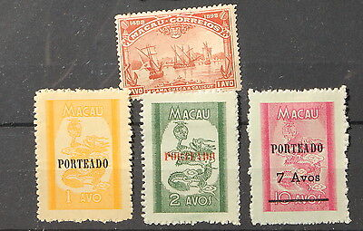 Stamps China Macau collection mint stamps