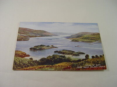 TOP11384 - Valentine's Postcard - Kyles of Bute from above Caladh Castle