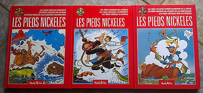 Les Pieds Nickelés - 3 tomes