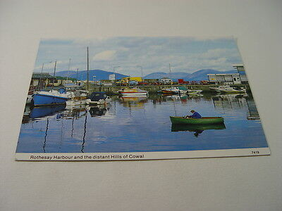 OZ858 - Postcard - Rothesay Harbour & Distant Hills of Cowal 1992