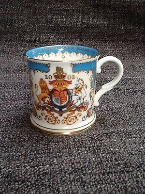 Queen Elizabeth Golden Jubilee 2002 mug