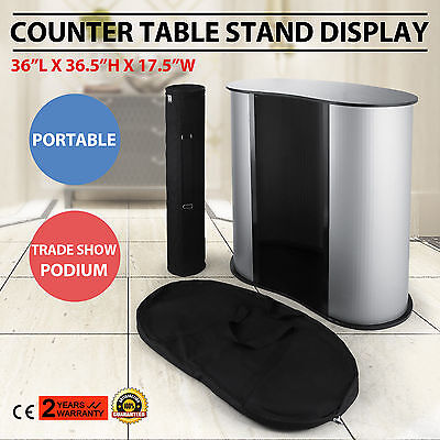 Podium Table Counter Stand Trade Show Display Impact Pop Up Promotion Retail