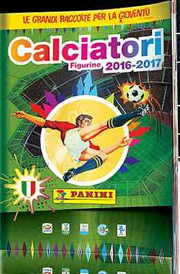 Album CALCIATORI PANINI 2016 / 2017 + set 504 figurine stickers tutte diverse