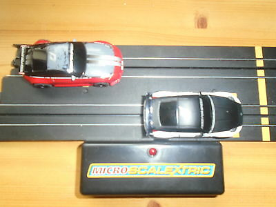 """Micro Scalextric  NISSAN 350Z""""S FROM NEED FOR SPEED SET"""