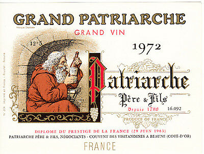 World wine labels - france pere  a