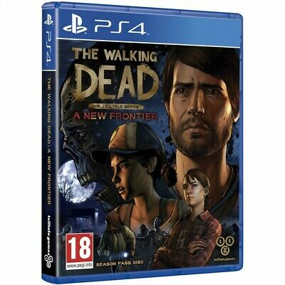 The Walking Dead Ps4 A New Frontier The Telltale Series Season Pass Disc