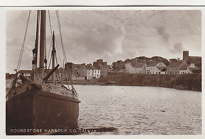 Real photo Galway, Roundstone, Roundstone Harbour
