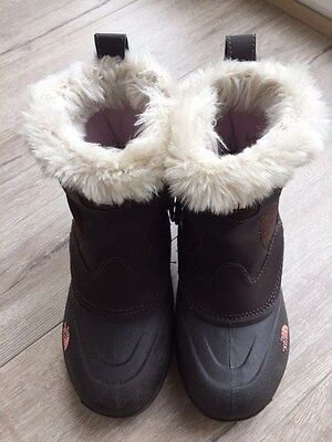 Girls Size UK 2 The North Face winter Boots