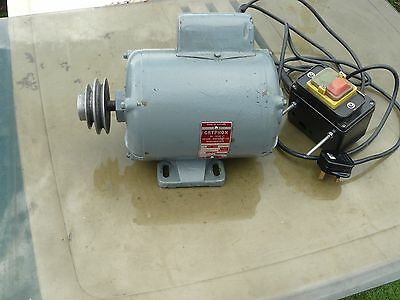 myford ml 7 lathe motor with switch