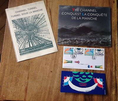 Channel Tunnel Stamps Royal Mail Collection + Book  #b