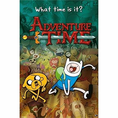 Adventure Time What Time Is It Maxi Poster - 61x 91.5cm