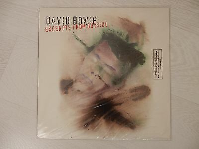 David Bowie - Excerpts From Outside - Original, Sealed 1995 Vinyl Lp Record