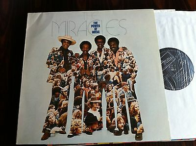 LP   -    THE MIRACLES    -   THE POWER OF LOVE  - Tamla Motown