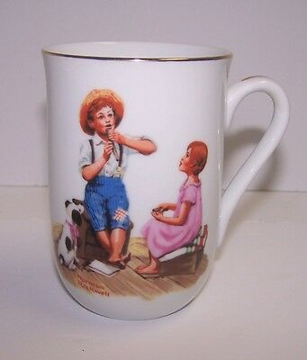 Coffee Cup Norman Rockwell Museum Music Master 1982