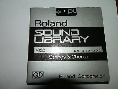 Roland S9-S10-002 Quick Disks Strings & Chorus