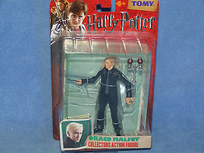 Harry Potter And The Deathly Hallows Draco Malfoy Action Figure NEW BOXED