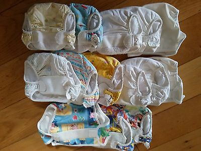 14 *Used*Cotton Bottom washable nappy outers