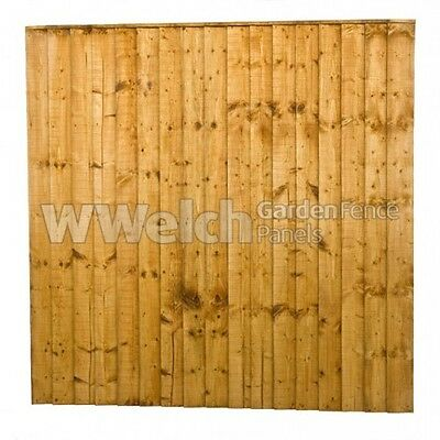 Garden Fence Panel Close Board/Feather Edge