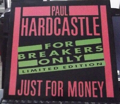 """Paul Hardcastle Just For Money (For Breakers Only) 12"""" CASHT1 Limited Edition"""