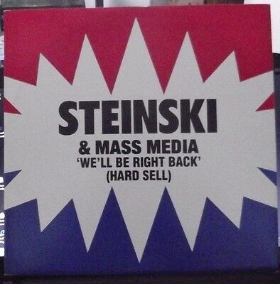 """Steinski and mass media We'll Be Right Back 4 track 12"""""""