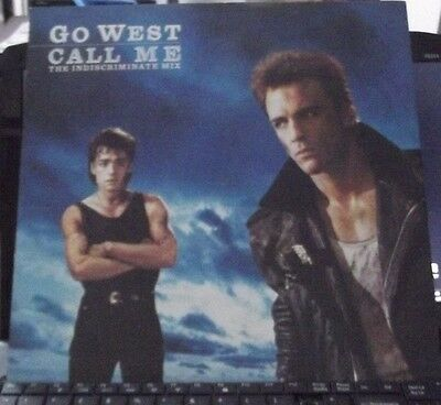 """Go West Call Me (Indiscriminate Mix) 3 track 12"""" GOWX 1"""