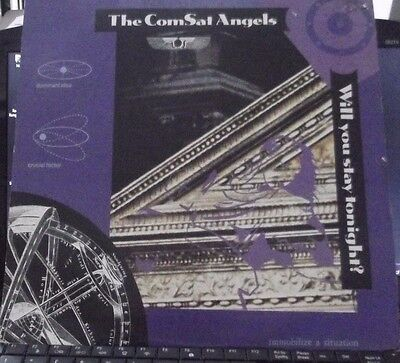"""The Comsat Angels Will You Stay Tonight 3 track 12"""""""