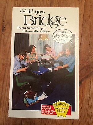 Vintage Waddingtons Box Set Bridge Sealed