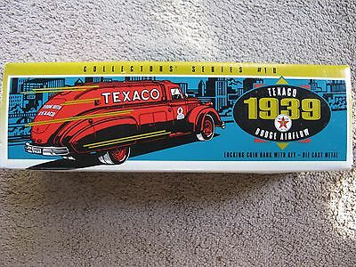 Texaco~1939 Dodge Airflow ~Locking Die Cast Bank~Ertl~Chrysler~New In Box