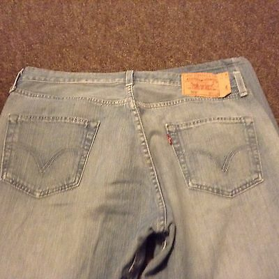 levis stone washed 501's button fly waist 36 ins