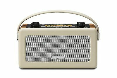 Roberts Vintage DAB/DAB+/FM RDS Portable Radio with Built in Battery Charger ...