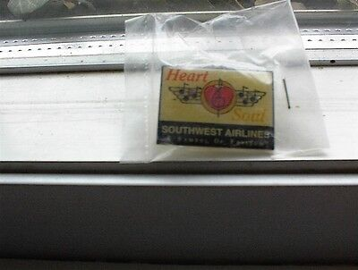 SOUTHWEST AIRLINES Heart and Soul A Symbol of Freedom Pin