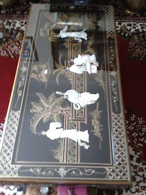 Chinese Mother Of Pearl Inlaid Coffee Table