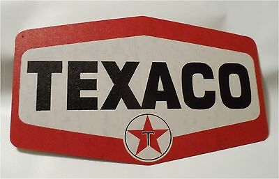 Texaco Gas Station Sign Nostalgic Looking Service Oil Station Retro Metal Sig...