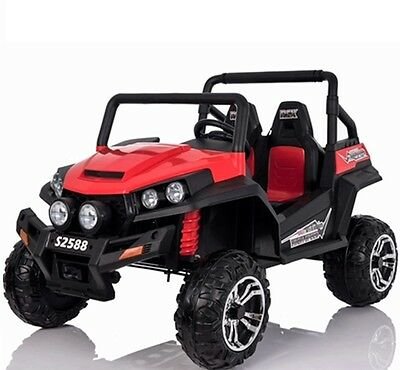 Renegade Maverick RS 24v 4 x 4 Child's Electric Battery Ride On UTV - Red