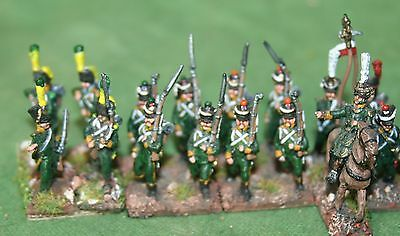 15/18mm Napoleonic French Allied Illyrian infantry , AB miniatures, pro painted