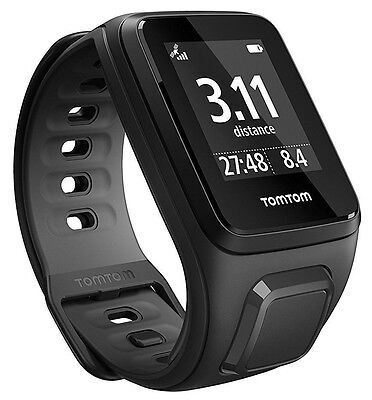 TomTom Runner 2 GPS Watch (Black / Anthracite) Small