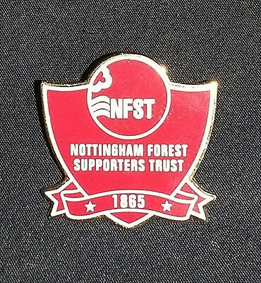 Nottingham Forest Fc - Supporters Trust Badge