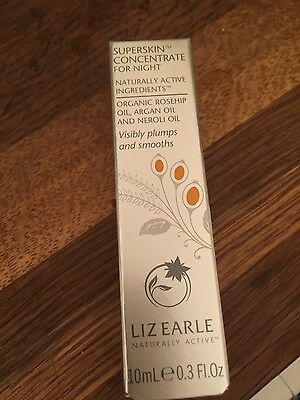 Bnib Liz Earle Superskin Concentrate Oil for Night 10ml - Rollerball