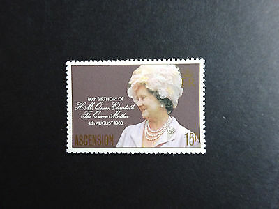 ASCENSION  80th Birthday of Queen Mother 1980 SG 269 MNH.