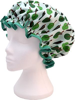 Vagabond Bags Trees Shower Cap
