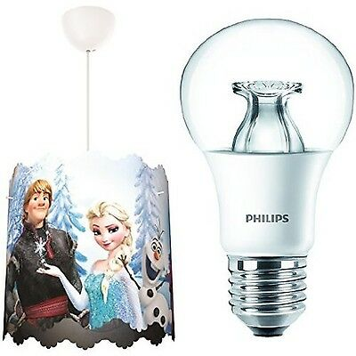 Philips Disney Frozen Lampshade Children's Ceiling Pendant Lightshade with E2...